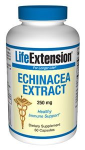 Echinacea Extract (250 mg 60 v-caps)* Life Extension