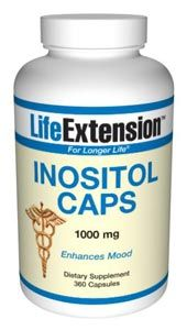 Inositol (1000 mg 360 v-caps)* Life Extension