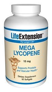 Mega Lycopene (15 mg 90 softgels)* Life Extension