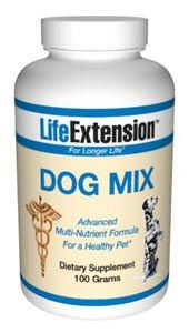 Life Extension Dog Mix (pet vitamins) (100 grams)* Life Extension