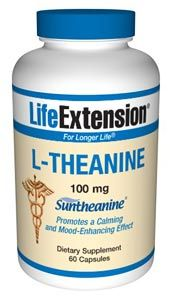 L-Theanine (100 mg 60 v-caps)* Life Extension