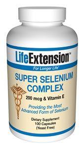Super Selenium Complex (200 mcg 100 capsules)* Life Extension