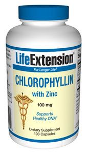 Chlorophyllin (100 capsules)* Life Extension