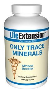 Only Trace Minerals (90 capsules)* Life Extension