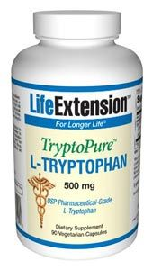 TryptoPure L-Tryptophan (90 vegetarian capsules)* Life Extension