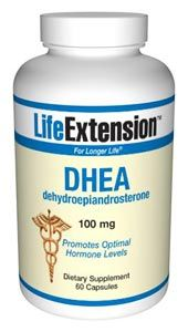 DHEA (dehydroepiandrosterone) (100 mg 60 caps)* Life Extension