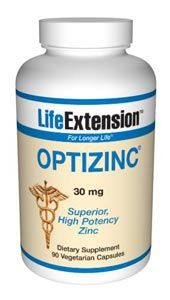 OptiZinc (30 mg 90 vegetarian capsules)* Life Extension