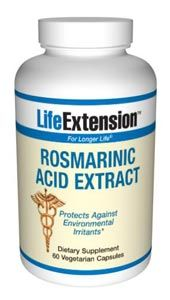Rosmarinic Acid Extract (60 vegetarian capsules)* Life Extension