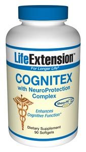 Cognitex with NeuroProtection Complex (90 softgels)* Life Extension