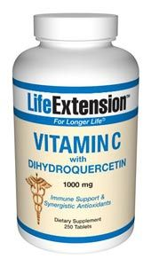 Vitamin C with Dihydroquercetin (1000 mg 250 tablets)* Life Extension