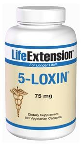 5-Loxin (75 mg 100 vegetarian capsules)* Life Extension