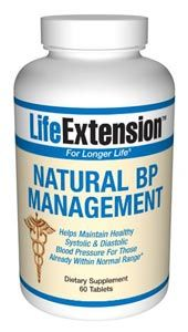 Natural BP Management (60 tablets)* Life Extension