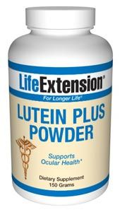 Lutein Plus (150 grams powder)* Life Extension