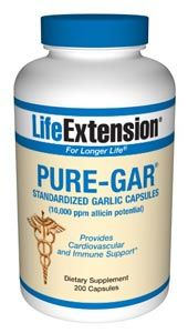 Optimized Garlic (200 veg caps)* Life Extension