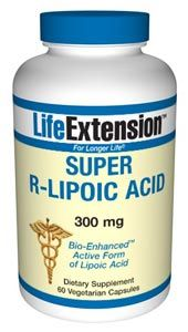 Super R-Lipoic Acid (60 vegetarian capsules)* Life Extension