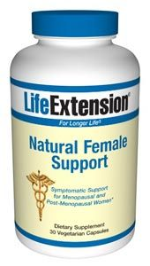 Natural Female Support (30 vegetarian capsules)* Life Extension