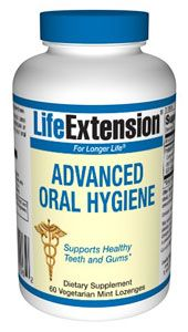 Advanced Oral Hygiene (60 mint lozenges)* Life Extension