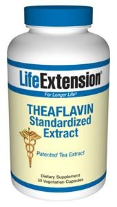 Theaflavins Standardized Extract (30 vegetarian capsules)* Life Extension