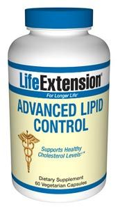 Advanced Lipid Cholesterol Control ( 60 vcaps)* Life Extension