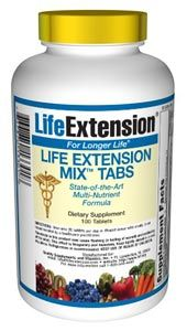 Life Extension Mix Tabs (100 tablets)* Life Extension