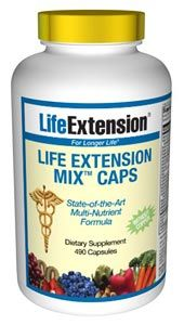Life Extension Mix Caps without Copper (490 capsules)* Life Extension