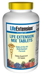 Life Extension Mix Tablets (315 tablets)* Life Extension