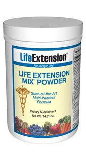 Life Extension Mix Powder w/Stevia (14.81 oz)* Life Extension