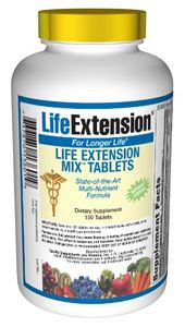 Life Extension Mix Tablets without Copper (100 tablets)* Life Extension