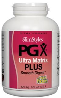 PGX Plus Soothe Digest (820 mg, 120 softgels)* Natural Factors
