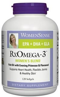 RxOmega-3 Womens Blend (120 softgel)* Natural Factors