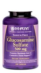 Glucosamine Sulfate  KCI (500 mg 120 caps) Metabolic Response Modifiers