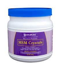 MSM Crystals (500 grams) Metabolic Response Modifiers