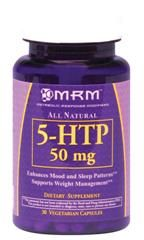 5-HTP (50mg  30 capsules) Metabolic Response Modifiers