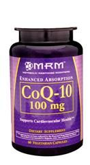 CoQ10  (100mg 60 Vcap) Metabolic Response Modifiers