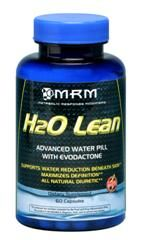 H2O Lean - Advanced Water Pill with EVOdactone (60 caps) Metabolic Response Modifiers