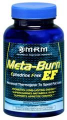 Meta-Burn EF Formula (120 Vcap) Metabolic Response Modifiers