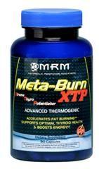 Meta-Burn XTP - Xtreme Thyro Potentiator - (Ephedrine Free- 90 caps) Metabolic Response Modifiers