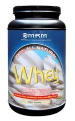 All Natural Whey - Rich Vanilla (2.02 lbs) Metabolic Response Modifiers