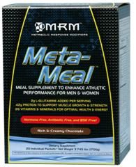 Meta-Meal Deluxe- (Chocolate 20 packets per box) Metabolic Response Modifiers