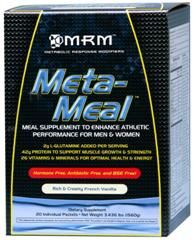 Meta-Meal Deluxe- (Vanilla 20 packets per box) Metabolic Response Modifiers