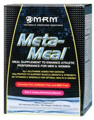 Meta-Meal Deluxe- (Strawberry Banana 20 packets per box) Metabolic Response Modifiers