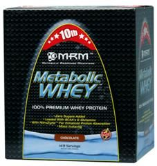 Metabolic Whey  Protein (Chocolate 10 lbs) Metabolic Response Modifiers