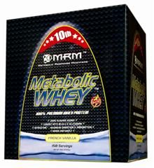 Metabolic Whey  Protein (Vanilla 10 lbs)Contains: Milk. Metabolic Response Modifiers