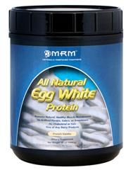 Egg White Protein - Vanilla (24 oz) Metabolic Response Modifiers