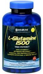 L-Glutamine  (1500mg -150 caps) Metabolic Response Modifiers
