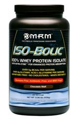 Iso-Bolic | Whey Protein Isolate (Chocolate 2 lbs) Metabolic Response Modifiers