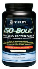 Iso-Bolic | 100% Whey Protein Isolate (Vanilla 2 lbs) Metabolic Response Modifiers