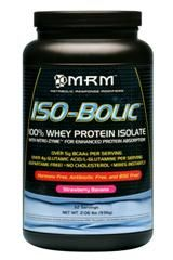 Iso-Bolic | Whey Protein Isolate (Strawberry Banana, 2 lbs) Metabolic Response Modifiers