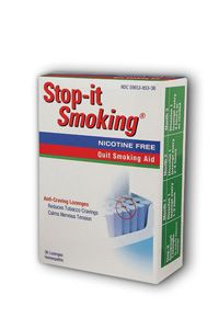 Stop-it Smoking Lozenges (36 lozenges) Natra-Bio