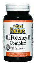 High Potency Vitamin B Complex (50 mg 90 capsules)* Natural Factors